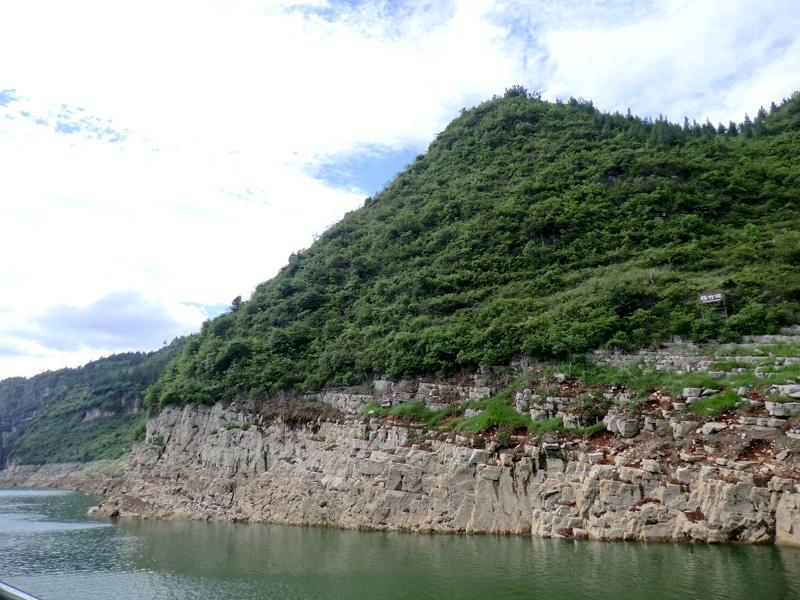 Le ferry nous emmène en 50 minutes au ponton de la rivière shennong